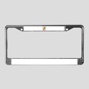 Best friends License Plate Frame