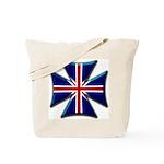 British Biker Cross Tote Bag