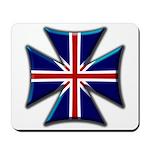 British Biker Cross Mousepad