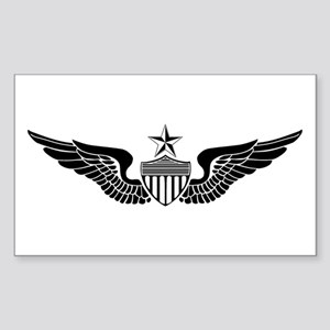 Sr. Aviator Rectangle Sticker