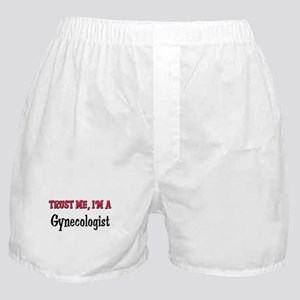 Trust Me I'm a Gynecologist Boxer Shorts