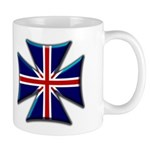 British Biker Cross Mug