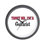 Trust Me I'm a Guitarist Wall Clock