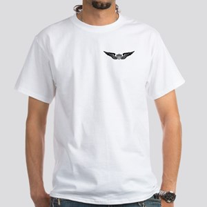 2-Sided Aviator (1) White T-Shirt