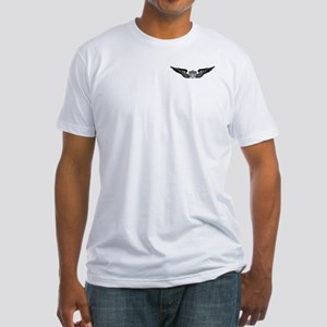 2-Sided Aviator (1) Fitted T-Shirt