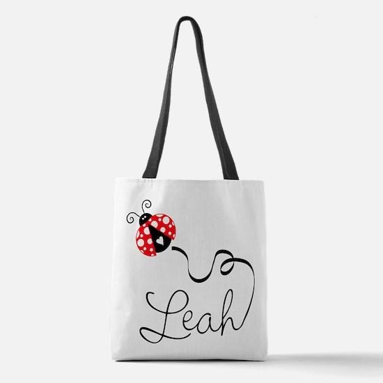 Ladybug Leah Polyester Tote Bag