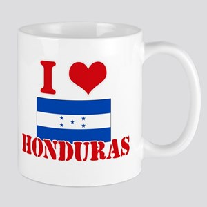 I Love Honduras Mugs