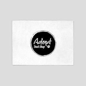 Adopt! 5'x7'Area Rug