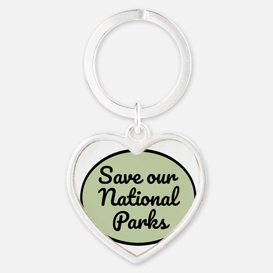Save Our National Parks Keychains