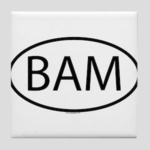 BAM Tile Coaster