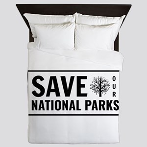 Save Our National Parks Queen Duvet