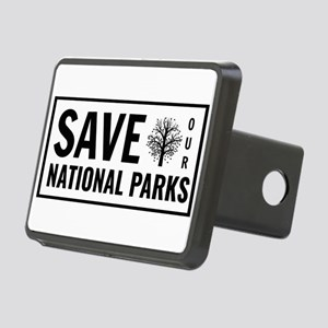 Save Our National Parks Rectangular Hitch Cover