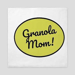 Granola Mom Queen Duvet