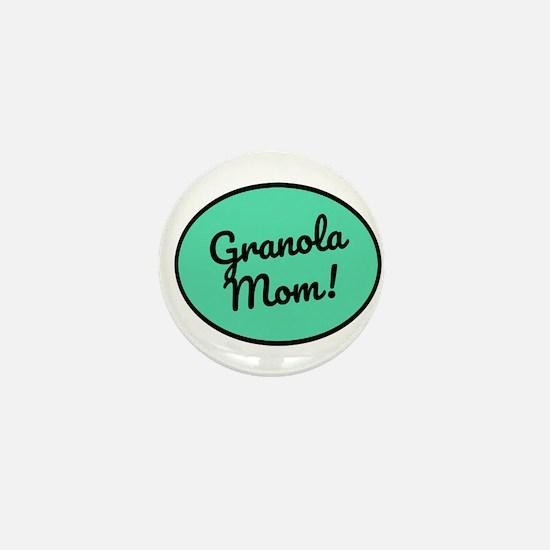 Granola Mom Mini Button