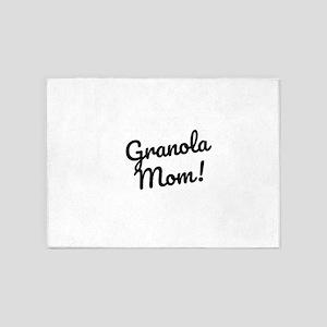 Granola Mom 5'x7'Area Rug