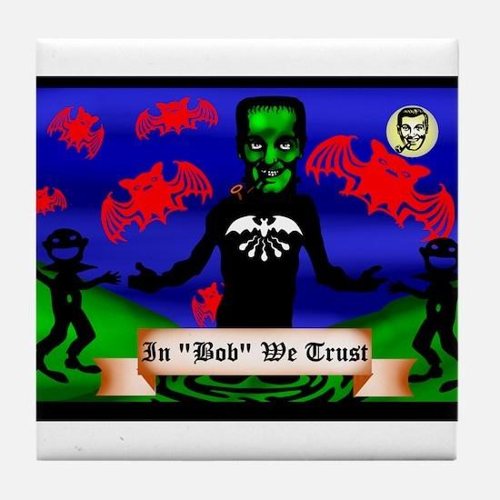 Funny Dobbs Tile Coaster