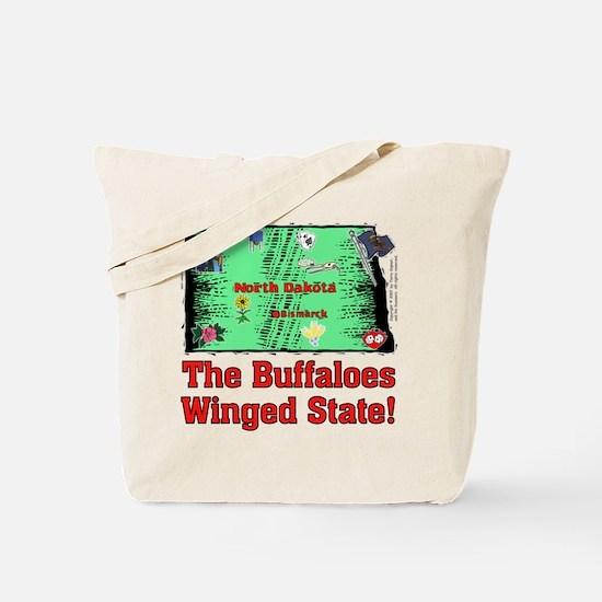 ND Buffaloes! Tote Bag