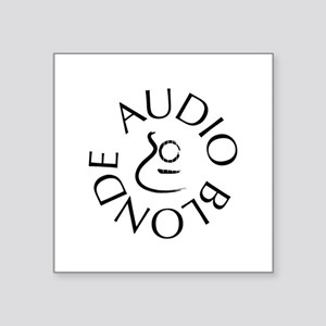 Audio Blonde Sticker