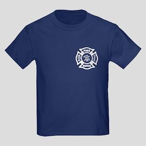 Fire Rescue Kids Dark T-Shirt
