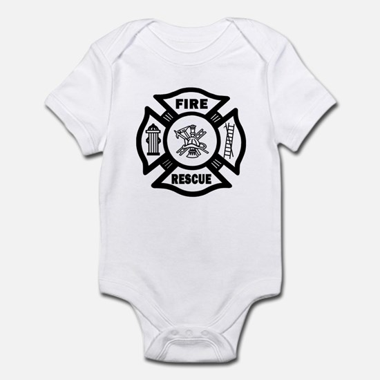 Fire Rescue Infant Bodysuit