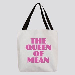 Queen of Mean Polyester Tote Bag