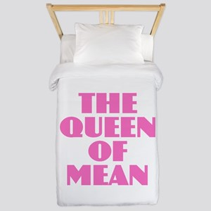 Queen of Mean Twin Duvet Cover