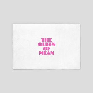 Queen of Mean 4' x 6' Rug