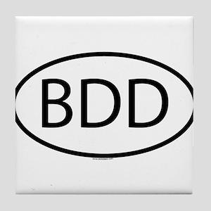 BDD Tile Coaster
