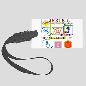 JESUS E-MAIL-1 Luggage Tag