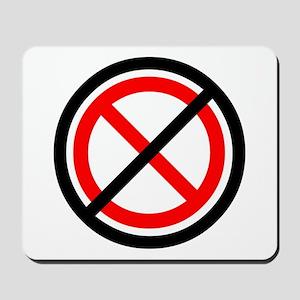 No Banning Mousepad