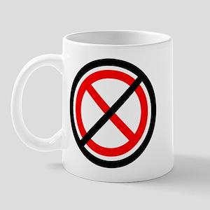 No Banning Mug