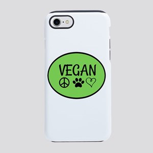 Vegan iPhone 8/7 Tough Case