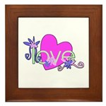 Love Gifts Framed Tile