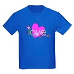 Love Gifts Kids Dark T-Shirt