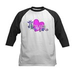 Love Gifts Kids Baseball Jersey