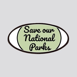 Save Our National Parks Patch