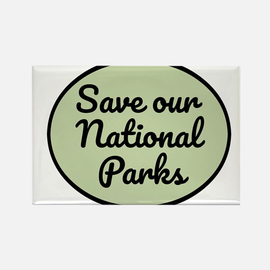 Save Our National Parks Magnets
