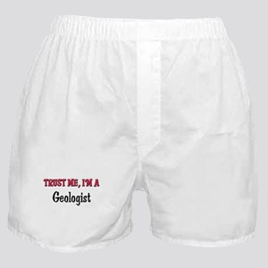Trust Me I'm a Geologist Boxer Shorts