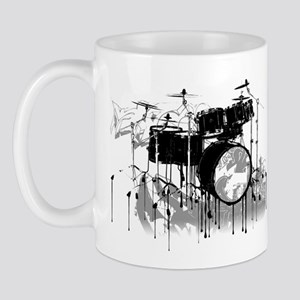 Drum Set Graffiti Mug