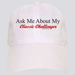 """""""Ask Me About My Challenger"""" Cap"""