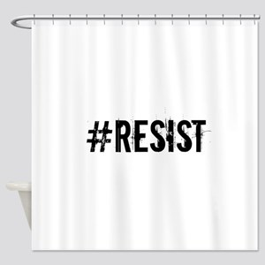 #RESIST Shower Curtain