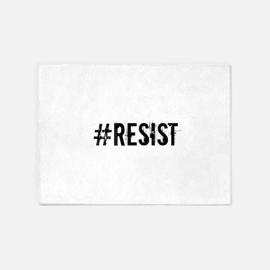 #RESIST 5'x7'Area Rug