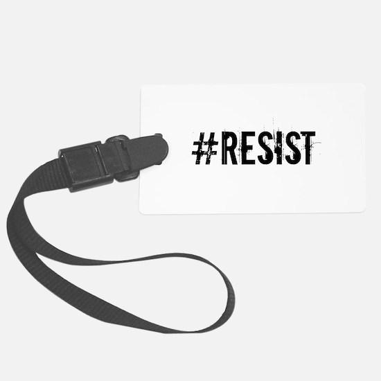 #RESIST Luggage Tag