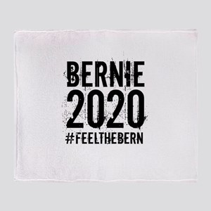 Bernie 2020 Throw Blanket