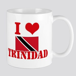 I Love Trinidad Mugs