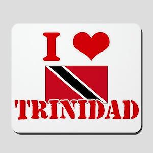 I Love Trinidad Mousepad