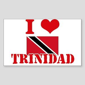 I Love Trinidad Sticker