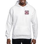 American Maltese Cross Hooded Sweatshirt