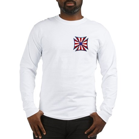 American Maltese Cross Long Sleeve T-Shirt