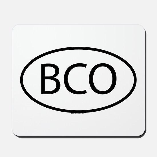 BCO Mousepad